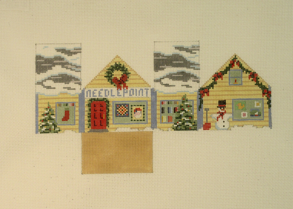 Needlepoint House