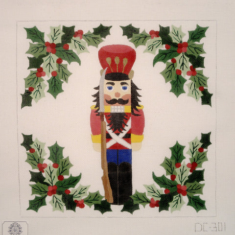 Red Nutcracker Pillow