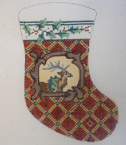 Reindeer Mini Stocking