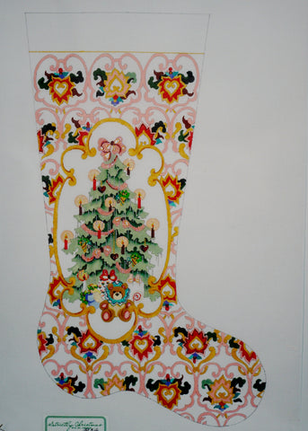 Tapestry/ Santa Stocking