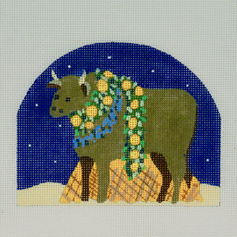 Holy Family - Cow - by Melissa Shirley