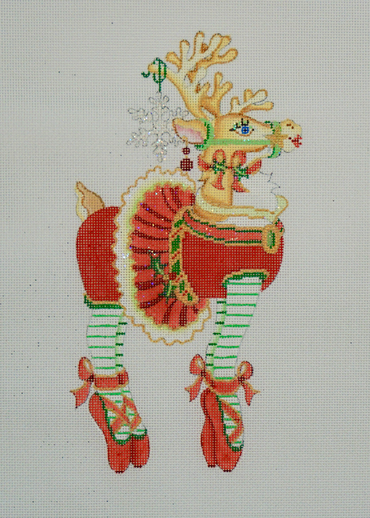 Reindeer with Ballet Shoes