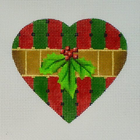 Christmas Heart - Stripe