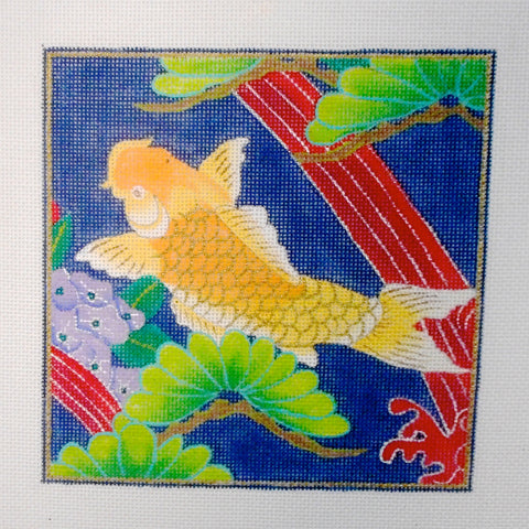 Golden Rod Koi