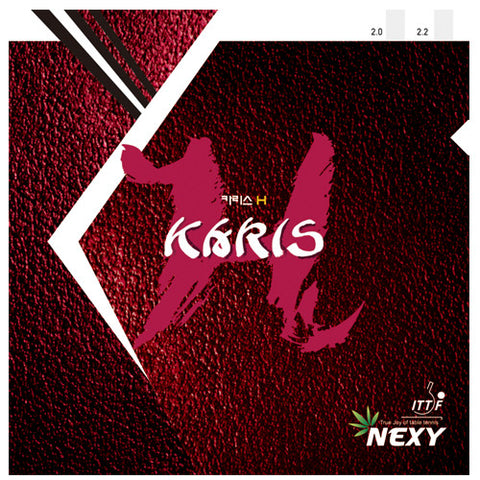 Karis H - The power topsin rubber Karis users have waited for.
