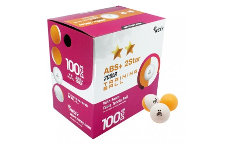 Nexy ABS 40+ Bi-Color Orange/White 2-Star Training Ball