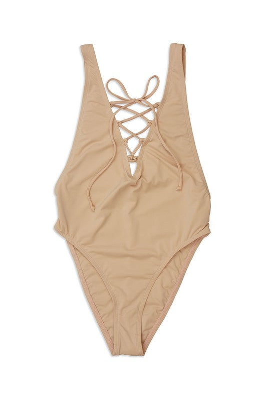 Ice cream break swim one piece - Breath of Youth Clothing