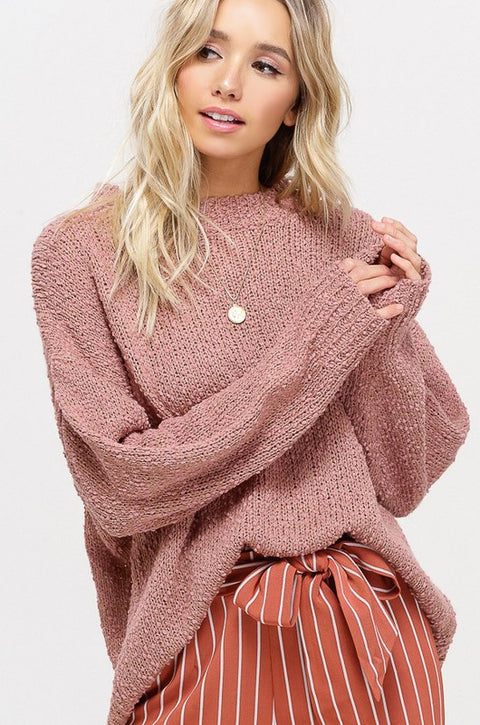 Cherry cheeks sweater