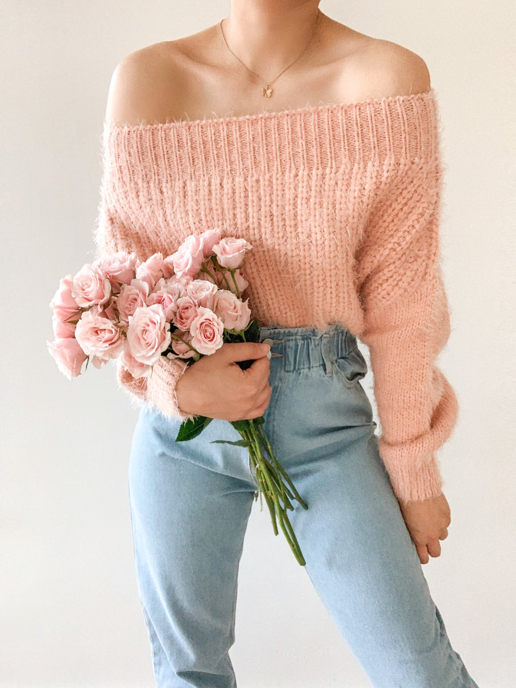 Sunshine and pastels sweater