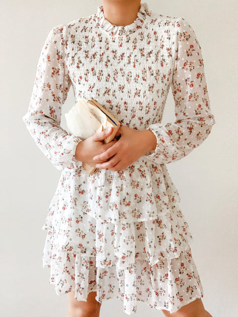 Basket of flowers dress