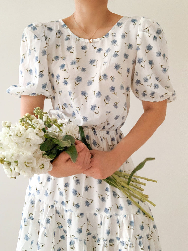 Catch the flowers dress