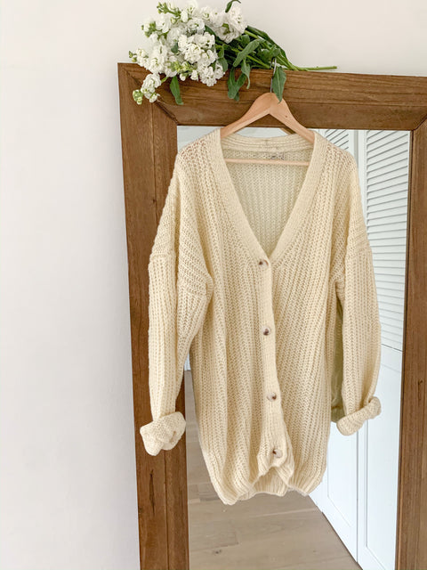 Morning tea cardigan