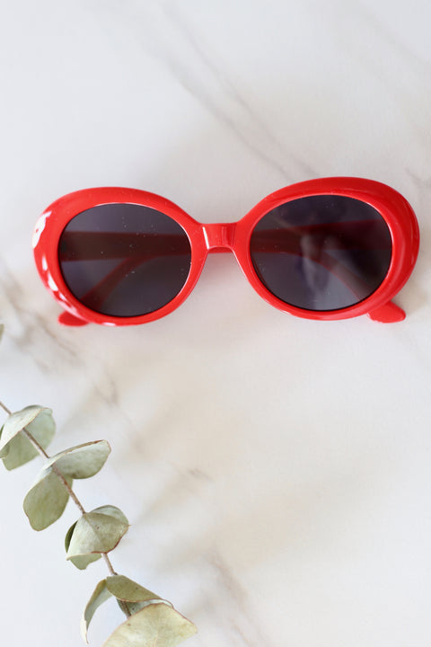 Cherry Bomb Sunglasses - Breath of Youth Clothing