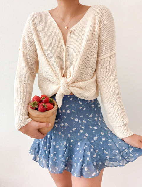 Peach & honey in the air cardigan
