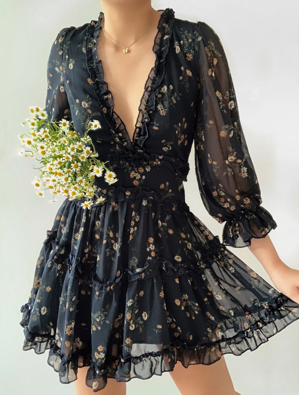 Time to bloom dress