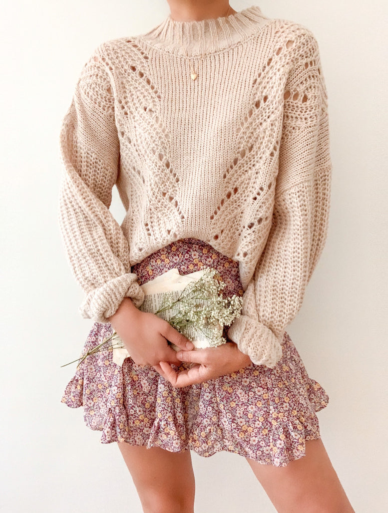 Shades of Autumn Sweater