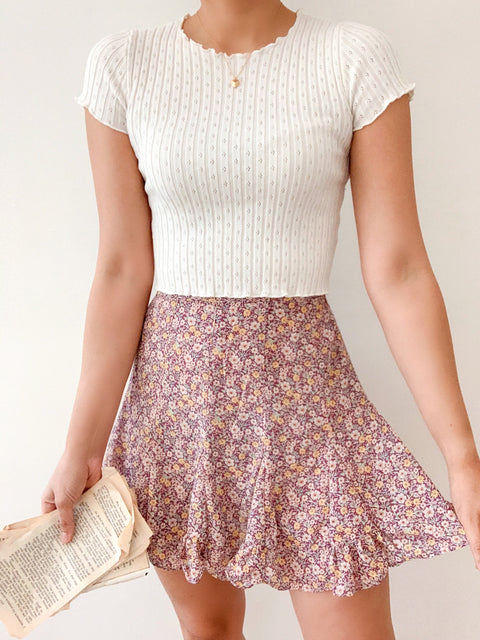 Lavender Path Skirt