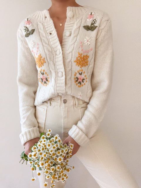 Fall Blooms Cardigan