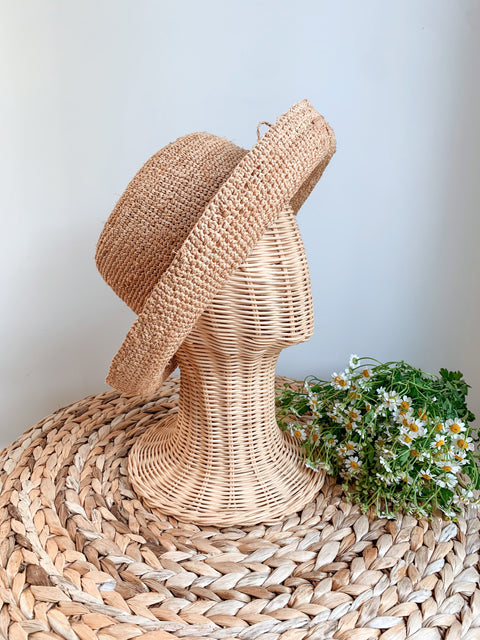 Sunflower bloom hat