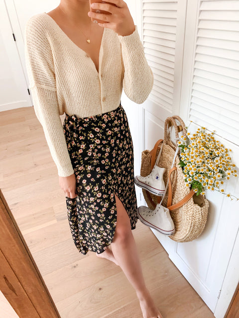 Wild bloom skirt