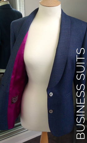 Bespoke business dresses and suits for the professional woman