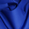 Designer women's work suit fabric - sapphire blue