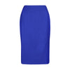 Women's workwear - Emily blue tailored skirt