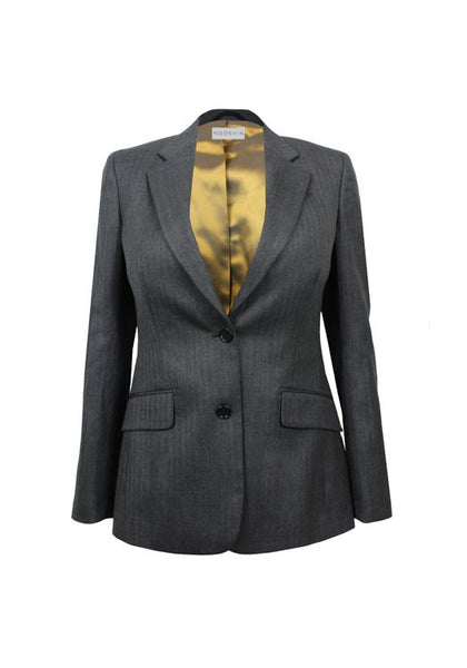 Tailored business jacket for women - Rose pure wool
