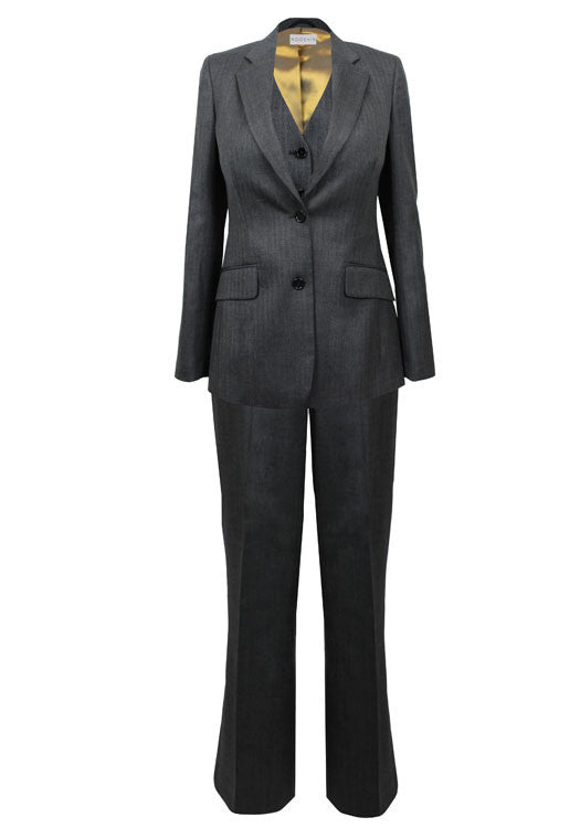 Ladies suits for work - Rose three piece tailored suit