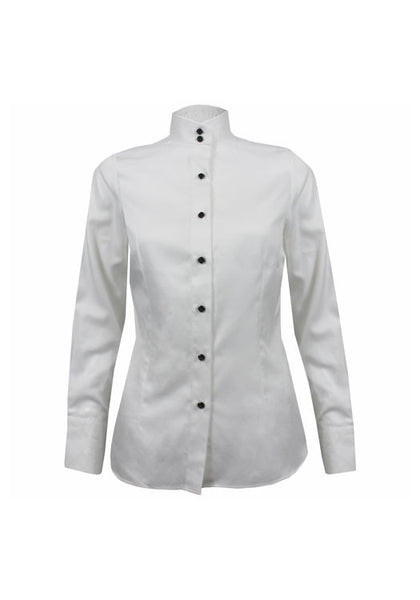 White ladies tailored shirt - Rebecca