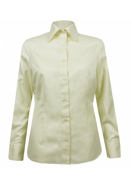 Yellow Elaine ladies tailored shirt
