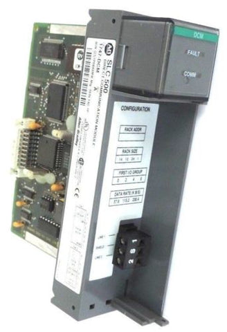 ALLEN BRADLEY 1747-DCM DIRECT COMMUNICATION MODULE 1747DCM SER. A