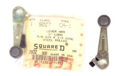 2 NEW SQUARE D 9007-CA-1 LEVER ARMS 2'' LONG, 5/8'' DIA. X 1/4'' WIDE, 9007CA1
