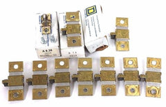 LOT OF 10 NEW SQUARE D HEATER ELEMENTS A8.38, B14, B3.70, B3.30, B6.25, B7.70