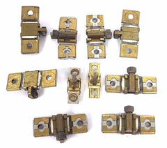LOT OF 10 SQUARE D HEATER ELEMENTS B2.65, B1.45, B3.70, A6.20, A4.32