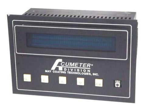 ACUMETER DIVISION MAY COATING TECHNOLOGIES PTC-8 PN77-0902 TEMPERATURE CONTROL