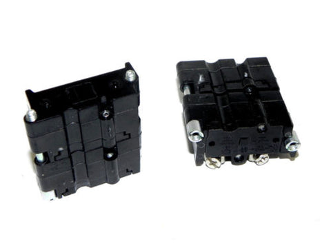 2 NEW CUTLER HAMMER E30KLA4 CONTACT BLOCKS