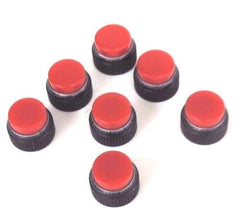 (7) NEW SYLVANIA 30147-0 LENSES T-2, INDICATOR CARTRIDGE, TRANSLUCENT RED, 30147