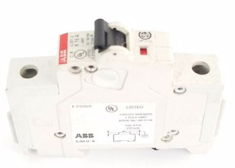 ABB S201-UK15A CIRCUIT BREAKER 15AMP 1POLE 240V, S201UK15A