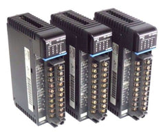 3 SIEMENS U-25N SIMATIC 16POINT INPUT MODULES 100/120VAC, 8/20MA, 50/60HZ, U25N