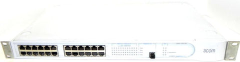 3COM 3C16987A NETWORK SWITCH SUPERSTACK 3 SWITCH 3300-SM 24PORT