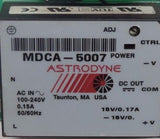 AIR GAGE COMPANY 02661-03 BOARD ABS III W/ ASTRODYNE MDCA-5007 POWER SUPPLY