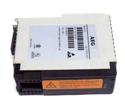 AEG MODICON AS-P120-000 AC POWER CONVERTER M/N 042 403 424 ASP120000