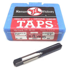 12 NIB HANSON WHITNEY M10X1.5 4 FL HIGH SPEED TAPS D-6T, E33752 IT.2