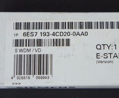 FACTORY SEALED SIEMENS 6ES7-193-4CD20-0AA0 MODULE TERMINAL 6ES71934CD200AA0