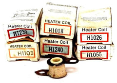 (6) NEW CULTER HAMMER HEATER ELEMENTS H1018, H1103, H1026, H1239, H1055, H1240