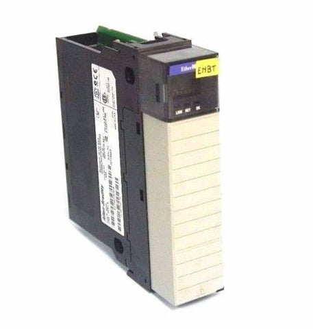 ALLEN BRADLEY 1756-ENBT A ETHERNET/IP 10/100 Mb/s CAT REV. A02 F/W 1.30 1756ENBT
