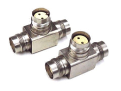 2 AMPHENOL 82-5677 TWIN COAXIAL CONNECTORS 825677
