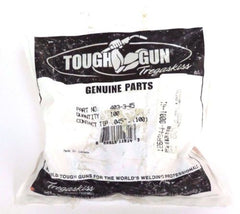 100 NIB TOUGH GUN TREGASKISS 403-3-45 CONTACT TIPS .045'', 403345