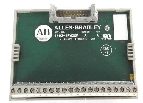 ALLEN BRADLEY 1492-IFM20F INTERFACE MODULE SER. A, REV. A